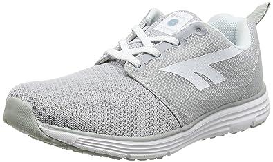 Hi-Tec Pajo Life, Zapatillas Deportivas para Interior para Mujer, Gris (Silver/Sprout/White 051), 37 EU
