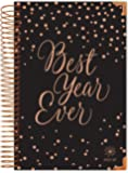 """bloom daily planners 2017-18 Academic Year HARD COVER Daily Planner - Passion/Goal Organizer - Monthly Datebook and Calendar - August 2017 - July 2018 - 6"""" x 8.25"""" - Best Year Ever"""