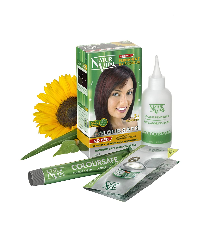 Amazon.com : Permanent Hair Dye, Permanent Hair Color.Coloursafe, No ...