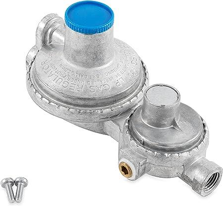 Camco Vertical 2-Stage Propane Regulator