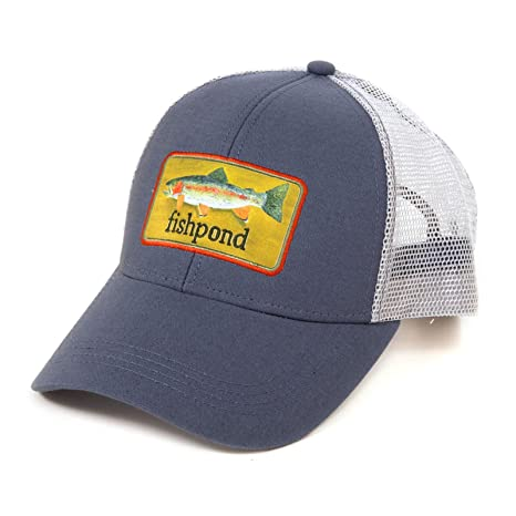 3160182cfc26d Image Unavailable. Image not available for. Color  Fishpond Fly Fishing  Rainbow Trout Trucker Hat