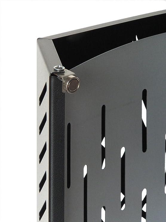 SUPERKA 5: Para proteger al bebé, Ideal para estufas de madera y pellets, Cubre el vidrio de la estufa, fabricado en acero, para la protección de la ...