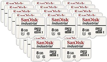 Sandisk Industrial 8gb Micro Sd Memory Card Class 10 Computer Zubehör