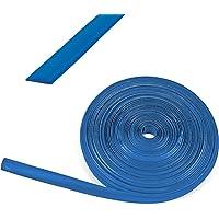 wamovo 10 meter kederband 12 mm blauw kunststof vulpen voor caravans en campers