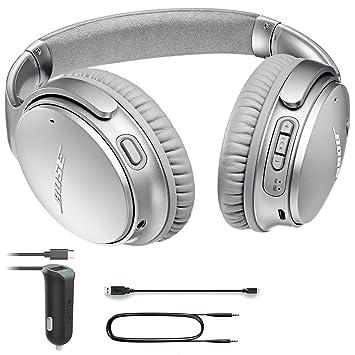 Bose QuietComfort 35 inalámbrico auriculares II con iOttie cargador de coche