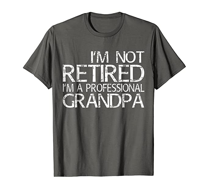 Grandad Enjoying His Retirement
