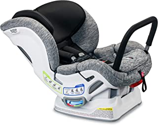 product image for Britax Boulevard Anti-Rebound Bar ClickTight Convertible Car Seat, Spark - Premium, Soft Knit Fabric - 2 Layer Impact Protection [Amazon Exclusive]