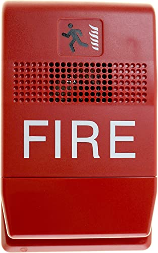 Est Edwards G1RF-C Genesis Chime, Indoor, Fire Alarm, 24Vdc, Red