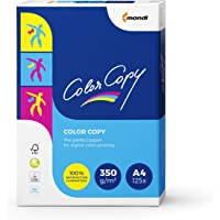Mondi Color Copy Carta da Stampa, Formato A4, 350gr/mq, 1 Risma da 125 Fogli