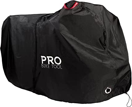 Waterproof Bicycle Cover For 2 Bikes Outdoor Storage With Free Lock Rain Sun Pro