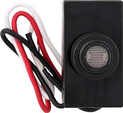 Westek 758CTC-4 Outdoor Post Eye Light Control, Black on