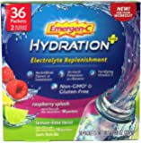 Emergen-C Hydration Plus Electrolyte Replenishment Sports Drink Mix, 36 Count