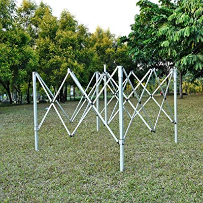 fam famgizmo 2.5x2.5m Pop Up Waterproof Gazebo with Silver Protective Layer Marquee Canopy and 4 Leg Weight Bags Beige