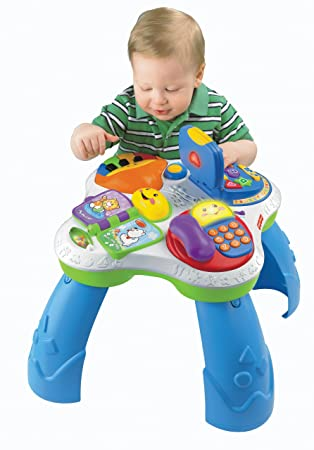 Nice Fisher Price Laugh U0026 Learn Fun With Friends Musical Table Activity Center