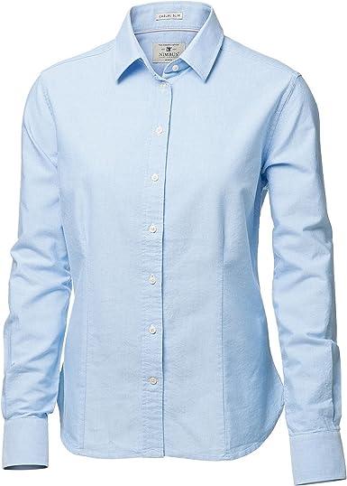 Nimbus - Camisa de manga larga modelo Rochester para mujer: Amazon.es: Ropa y accesorios