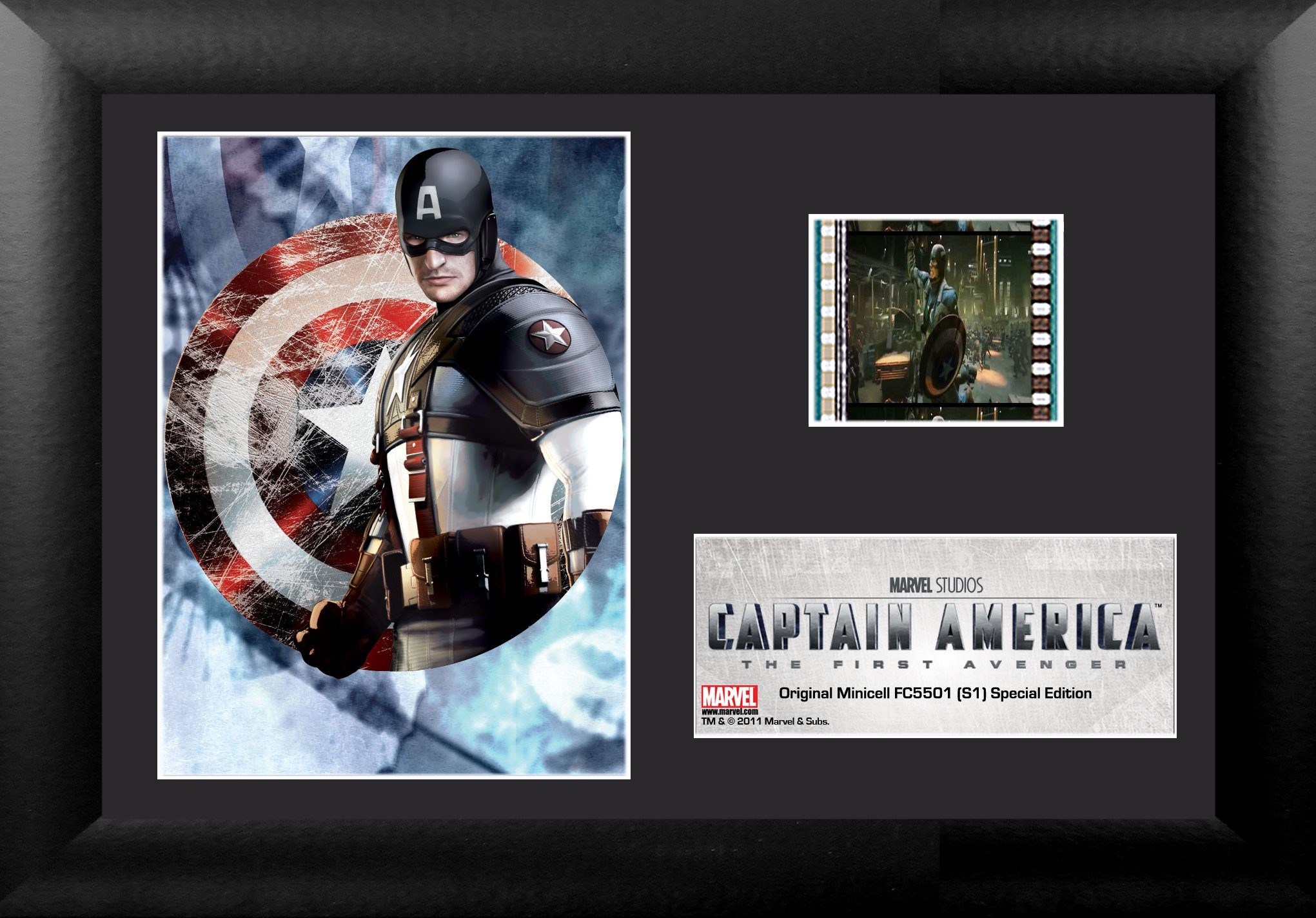 Trend Setters Ltd Captain America The First Avenger S1 Minicell Film Cell