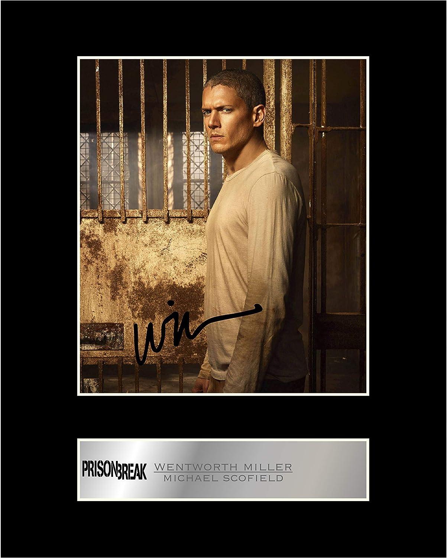 Wentworth Miller Michael Scofield Photo d/édicac/ée encadr/ée Prison Break