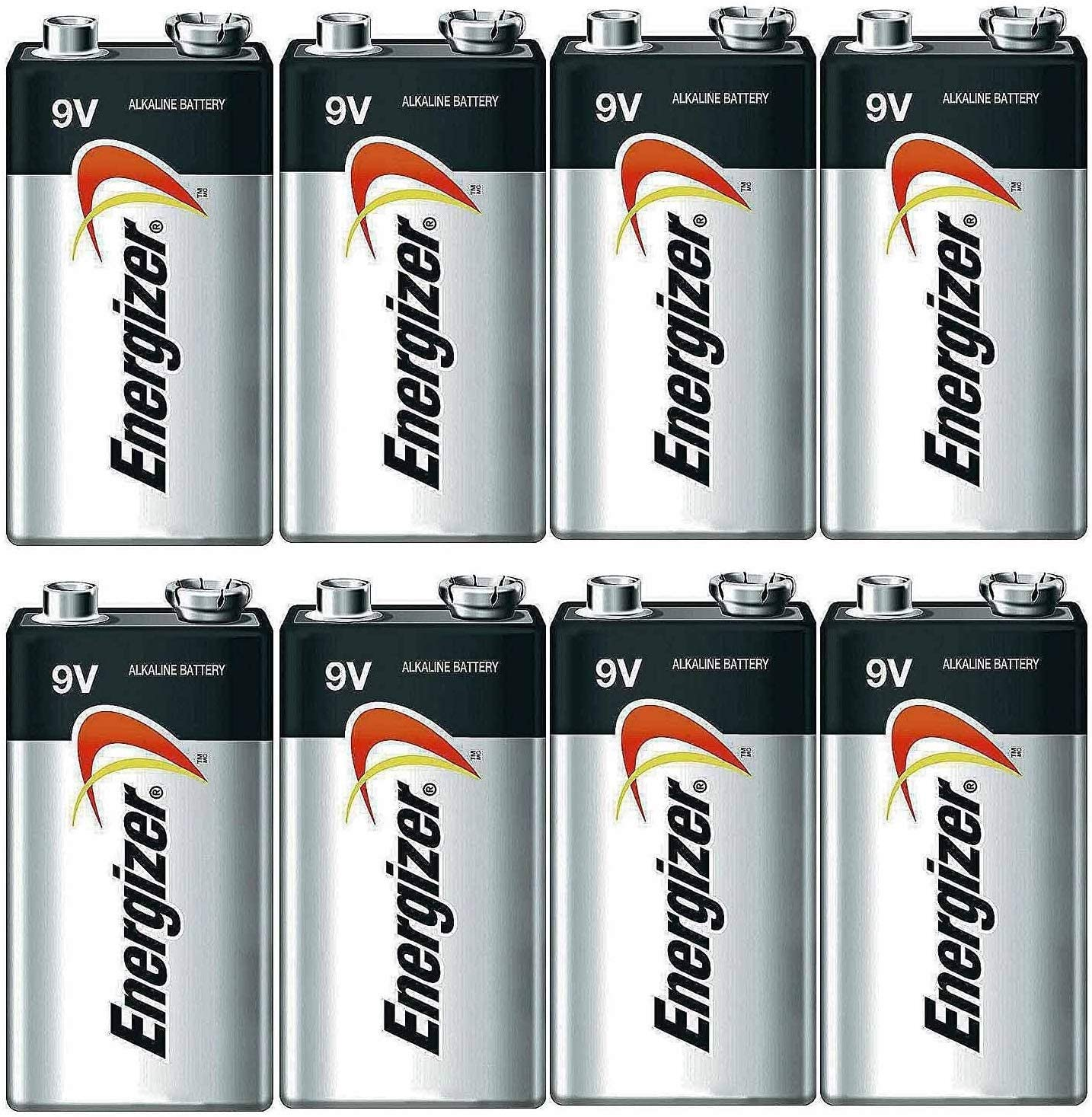 Energizer E522 Max 9V Alkaline battery - 8 Count: Health & Personal Care