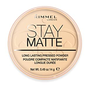 Rimmel London Stay Matte Long Lasting Pressed Powder, Transparent 0.49 oz