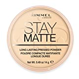 Rimmel Stay Matte Pressed Powder, 14 g - Transparent