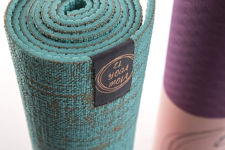 Esterilla Yoga Eco Yute Natural: Amazon.es: Deportes y aire ...