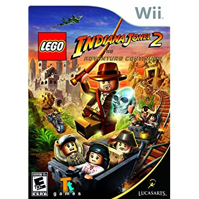 Lego Indiana Jones 2: The Adventure Continues - Nintendo Wii: Disney Interactive: Video Games