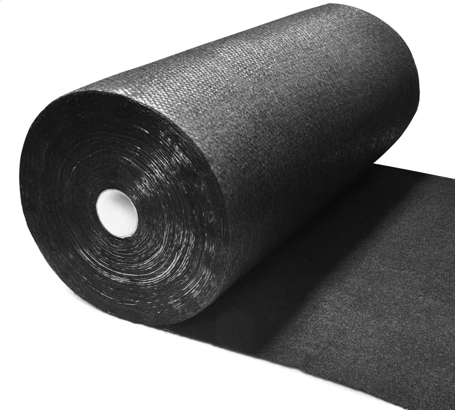 Pomeat Weed Barrier Landscape Fabric Heavy Duty, Premium Pro Weed Blocker Fabric, Durable & Superior Weeds Control Fabric for Vegetable Gardens, Flower Bed, Mulch, Pavers, Driveway 1.4 X 100FT Black