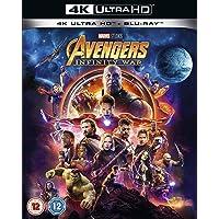 Avengers Infinity War [Blu-ray 4K] [2018] [Region Free]