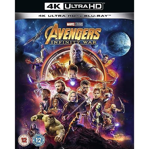 Avengers Infinity War 4K] [2018] [Region Free]