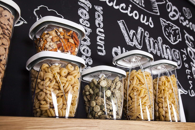 Tomorrows kitchen Blanco Conservador de Alimentos al vac/ío 14.5x14.5x27 cm