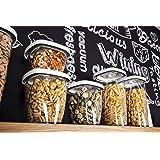 Tomorrow's Kitchen Conservador de Alimentos al vacío, Blanco, 14.50x14.50x16.30 cm