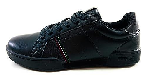Kappa Sfidante Zapatillas Casual Hombre Moda Negro Blanco: Amazon.es: Zapatos y complementos