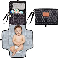 Baby Diaper Changing Pad - Portable Waterproof Diaper Changing Mat - Folding Diaper Changing Station - Travel Diaper…