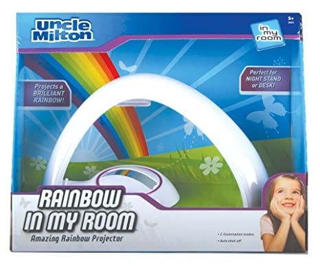 Amazon.com: Uncle Milton Rainbow In My Room Tabletop Décor Night ...