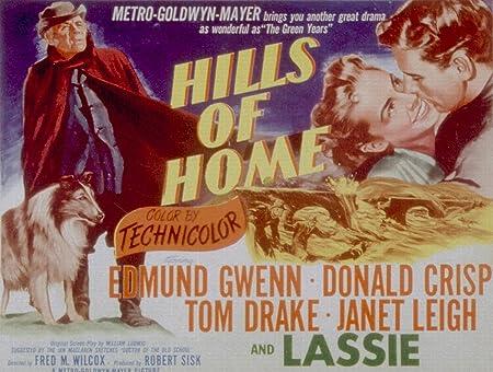 Hills Of Home, Lassie, Edmund Gwenn, 1948 - Foto-Reimpresión ...
