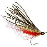 PEETZ Outdoors 4-Inch Pro Grade McFly Fly Fishing Lure | Deceiver Streamer Bucktail Clouser Wet Freshwater Saltwater | Pike Bass Perch Walleye Salmon Trout Dorado Tarpin Bonefish
