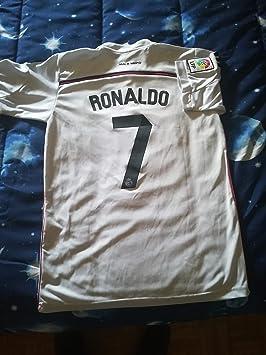 Camiseta de fútbol adidas de la primera equipación del del Real Madrid