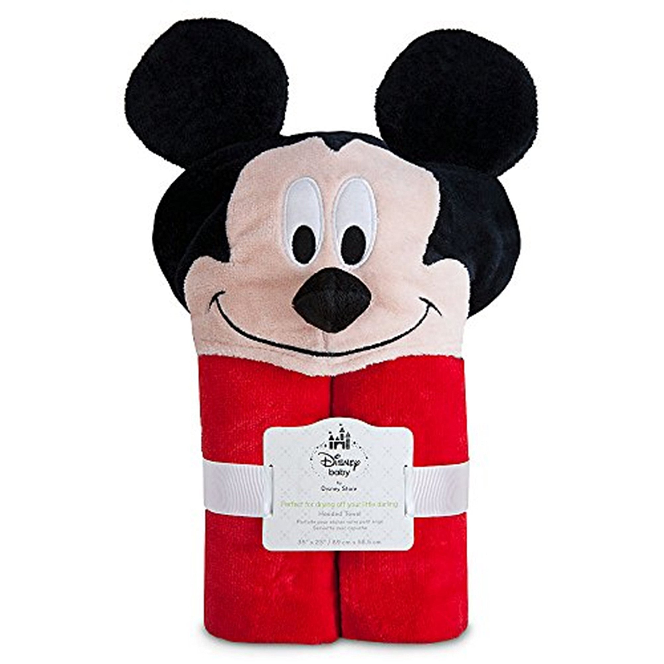 Disney Mickey Mouse Hooded Towel for Baby Toddlers Boys Clubhouse by We-Love-Babies