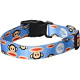 Paul Frank Dog Collar, Signature Julius, Blue, Large