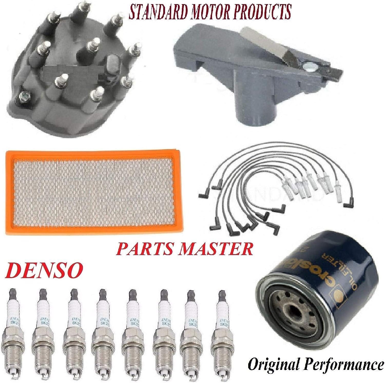 Denso Spark Plug Ignition Wires Set for Dodge Ram 1500 5.9L 5.2L V8 ue