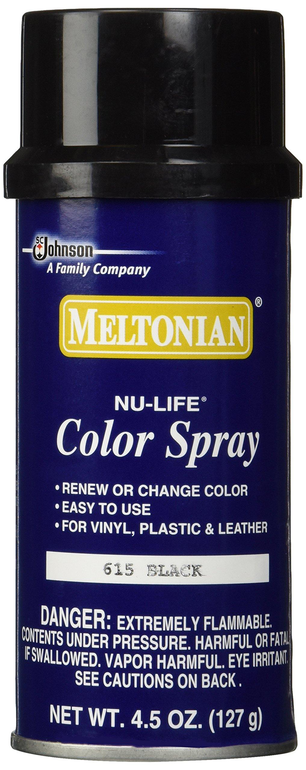Meltonian Shoe Color Spray - 615 Black