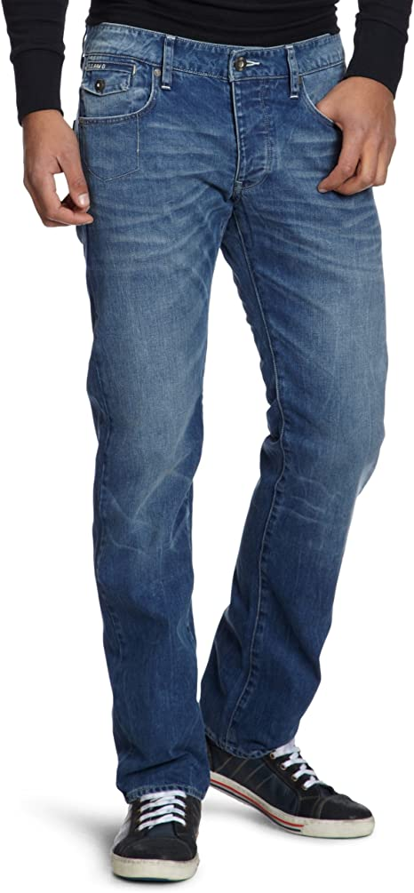 TALLA 30W / 36L. G-STAR RAW Morris Low Straight' Jeans para Hombre