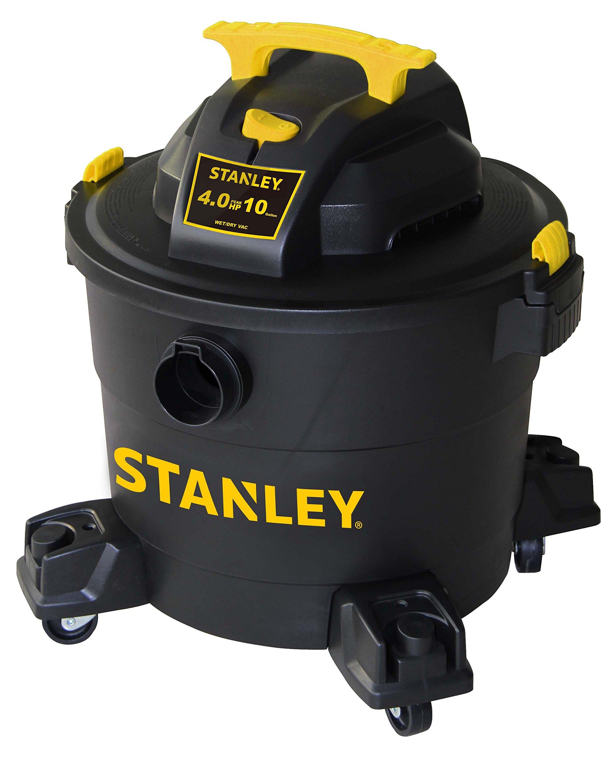 Stanley Wet/Dry Vacuum, 10 Gallon, 4 Horsepower by Stanley