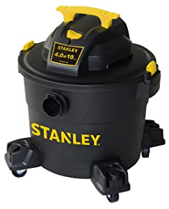 Stanley Wet/Dry Vacuum, 10 Gallon, 4 Horsepower