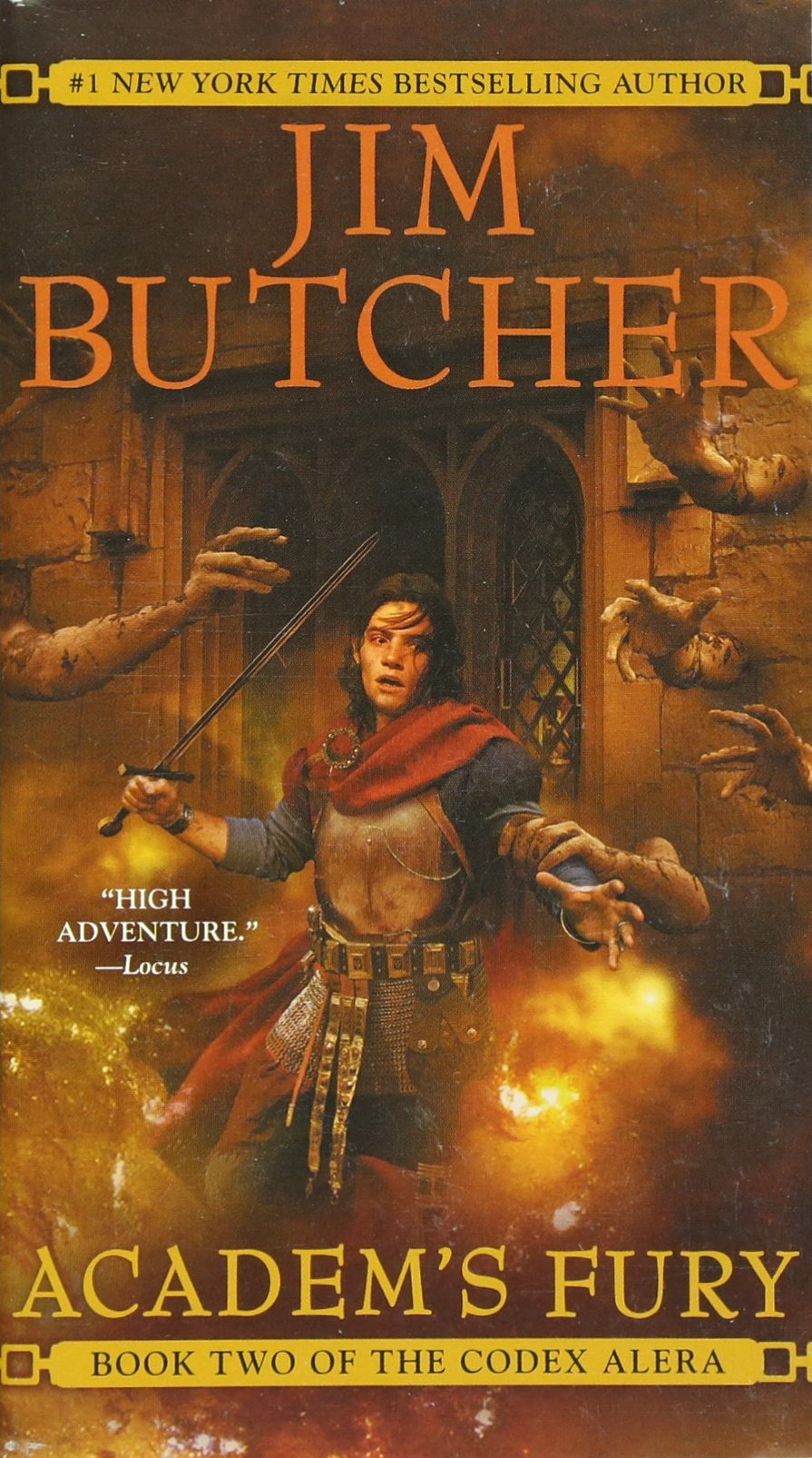 Amazon: Academ's Fury (codex Alera, Book 2) (9780441013401): Jim  Butcher: Books