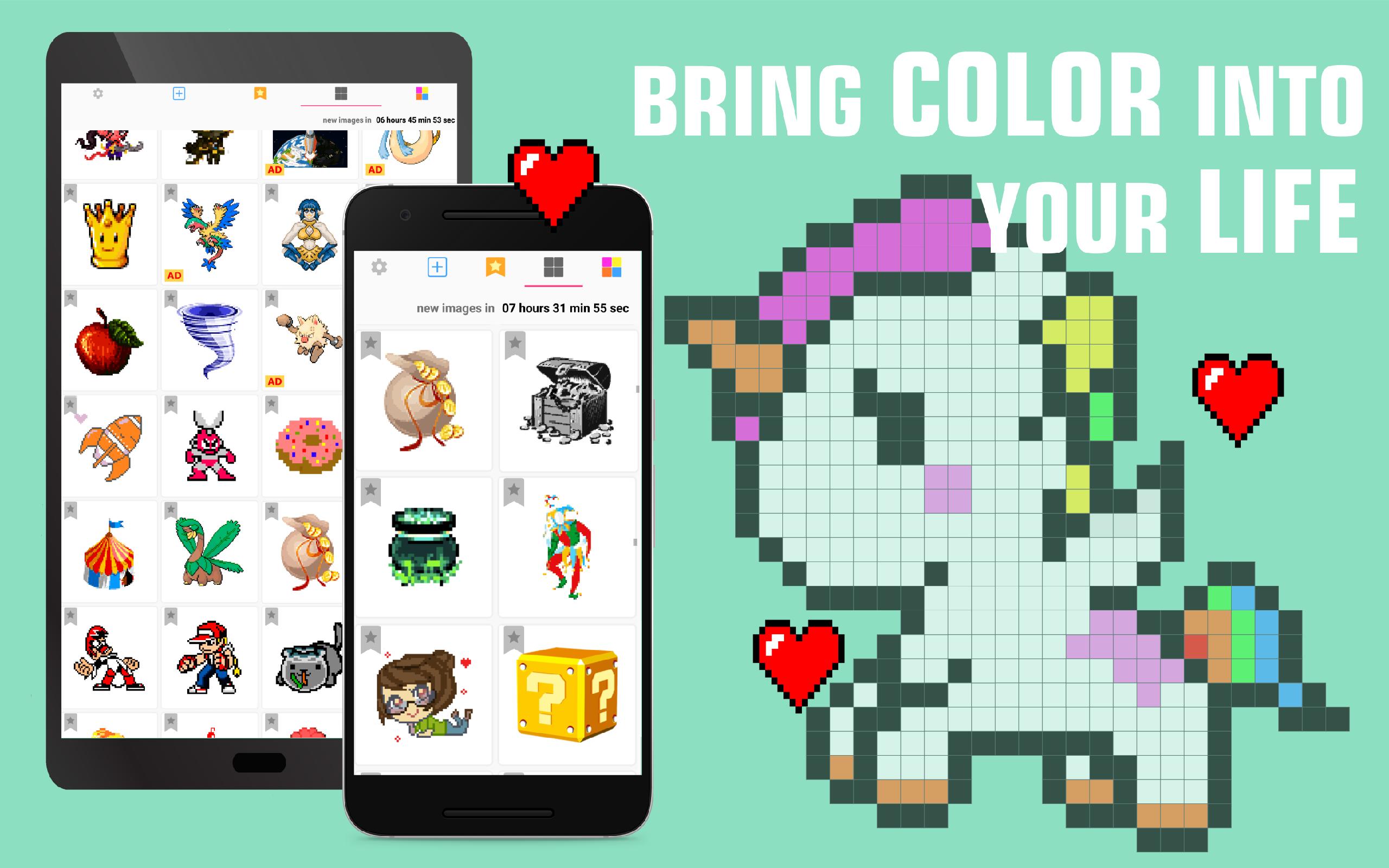 Amazon.com: Pixel.Unicorn - Free Number Sandbox Coloring 2018 ...