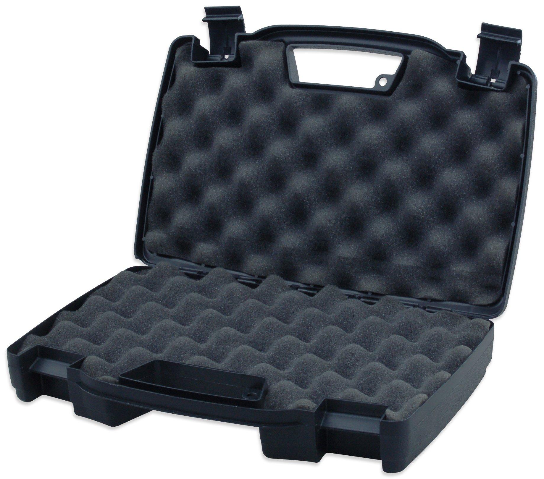 High Desert 10200 High-Desert Plastic Pistol Hard Case, Black