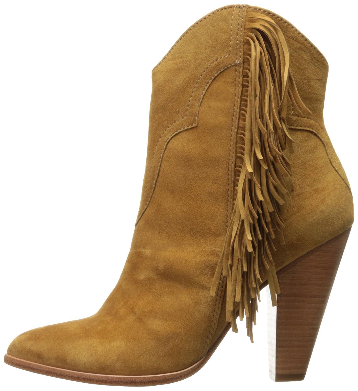 FRYE Women's Remy Fringe B(M) Short Boot B0193Z83XI 8.5 B(M) Fringe US|Camel e00036