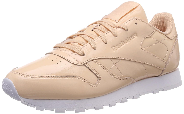 TALLA 36 EU. Reebok Classic Leather Patent, Zapatillas para Mujer