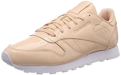 Reebok Classic Leather Patent, Zapatillas para Mujer: Amazon.es: Zapatos y complementos